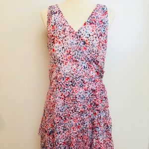 BR Chiffon printed dress